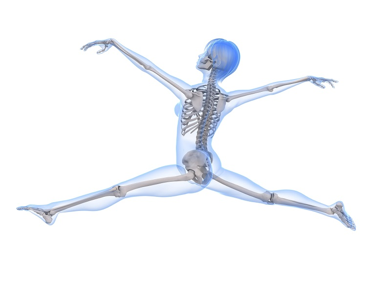 Bone Health Dancer in leaping split smaller
