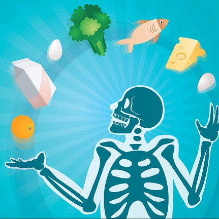 Bone Health Skeleton Juggling Food smaller