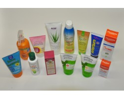 Sunscreens and After Sun Products